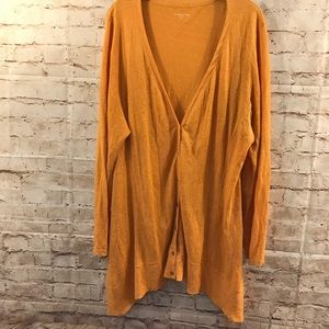 Eileen Fisher Size 1x Linen Cardigan